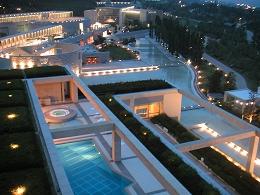 ウェスティンホテル淡路の客室のベランダから見えた夜景