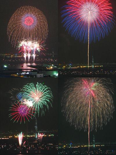 神奈川新聞花火大会 2006