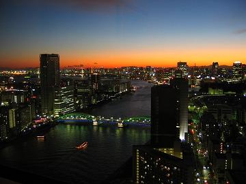 東京新阪急ホテル築地 (2003/12)